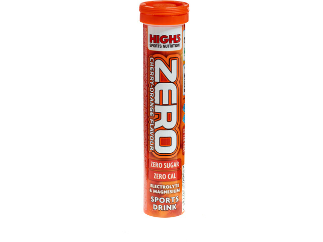 High5 Pastilles Électrolyte Boisson sportive 20 pièces, Cherry-Orange